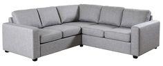 Sofa - velg blant flotte modeller eller bygg din egen modulsofaDallas hjørneStoff Rocco