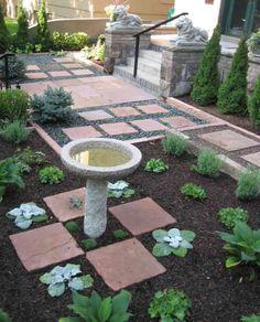 Beautiful garden pattern