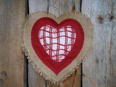 Valentines Day Decor Valentine Heart Door Hanger Sweetheart Burlap Wedding Decor