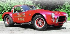 One-of-one 427 Dragonsnake Cobra..My 65 Nascar Big Block Vette Was Built To Fight These...