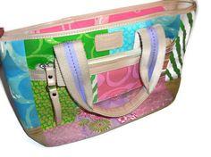 Limited Edition Coach Pastel Patchwork Purse Handbag by PurseGuru, $45.00