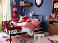 ikea bed for girls room