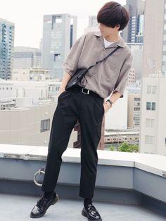clothes for men casual Japan Fashion Casual, Tokyo Fashion, Moda Streetwear, Streetwear Fashion, Korean Fashion Men, Mens Fashion, Japanese Fashion Men, Estilo Retro, Men Style Tips