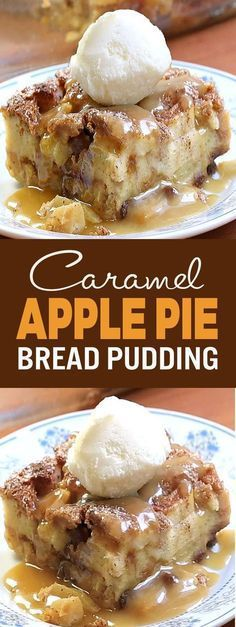 Perfect for morning, noon and night. This caramel apple bread pudding will be a hit with its festive autumn flavors […] Perfect for morning, noon and night. This caramel apple bread pudding will be a hit with its festive autumn flavors […] Just Desserts, Delicious Desserts, Yummy Food, Easy Apple Desserts, Recipes For Desserts, Carmel Desserts, Apple Deserts, Pecan Desserts, Apple Dessert Recipes