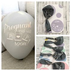Personalized Pregnancy Announcement by YourHappilyEverAfter