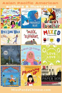 Asian Pacific American Authors and Illustrators | diverse books for kids