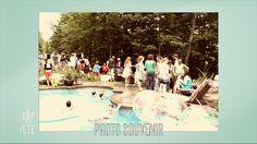 """Brigitte Lafleur et un """"party piscine"""""""