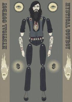 Mystical Cowboy (Printed parts taken from original)