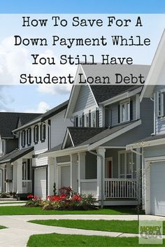 It is often preventing many people under 35 from being able to purchase their own homes. Student loan debt isn't helping either. But, should you consider saving for a down payment and buying a house with student loan debt still hanging over your head? House Down Payment, Buying First Home, Tax Debt, Apply For A Loan, Home Buying Process, Howard University, Student Loan Debt, Thing 1, Get Out Of Debt