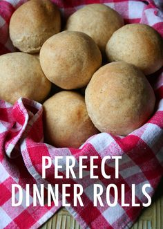 Enjoy a simple yet perfect homemade rolls recipe. These rolls have a firm crust but tender exterior, and make for a perfect meal accompaniment.