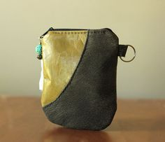 Recycled Leather Pouch Camera iPhone iPod by StudioWaterstoneBags, $26.00