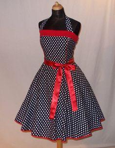 Pýchavka - rockabilly tanec spodničky černé červené tečky - návrhář kus textilu Hodnoty Kolem