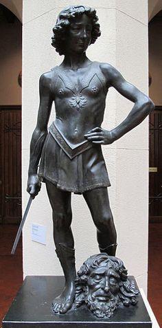notizie  G.M.  guido michi: VERROCCHIO-IL DAVID-MUSEO DEL BARGELLO  FIRENZE ...