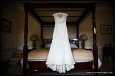 Brides preparations before her wedding at Denton Hall in Yorkshire by Wedding Photographer Paul Rogers