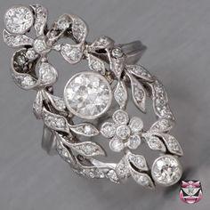 Edwardian Platinum Engagement Ring