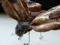 Primitive Brown Moth soft sculpture with by cornishcontemporary, £24.50