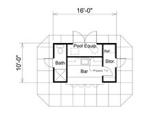 Pool House Plans further Pool House Plans additionally Planos De Casas Pequenas further Marvelous Arches And More 4254mj besides Grand And Glorious 4265mj. on poolside guest house plans