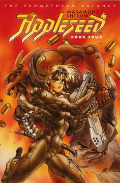 Book 4 cover from Masamune Shirow's Appleseed