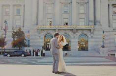 San Francisco City Hall Wedding: Dionne + Damien