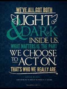 Harry Potter Sirius Black Quote Poster