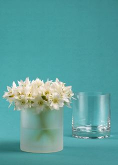 3 1/2 x 4in Frost Cylinder Vase