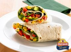 #missionwraps #vitamins #wraps #food #inspiration #meal #salad #corn #fresh #vegetables www.missionwraps.fr