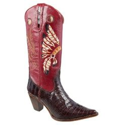 BOTA-COUNTRY-TEXANA-EXOTICA-LADYSILVER-REF-JACARE-CAFE- 0ddab3d41a3