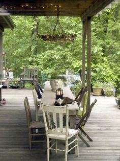 Repurposing Ideas for Outdoor Room Decor -