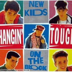 New Kids On The Block - Hangin' Tough single