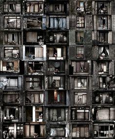 DESTIN à TERRE — Sao Paulo, Brazil. Photo Julio Bittencourt