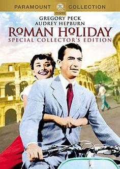 Audrey Hepburn- Roman Holiday