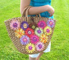 Hana-Ami embellished bag