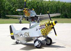 P-51 Pedal Plane