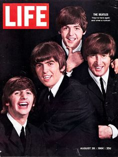 Beatles Life Magazine Cover 1964 Make a pendant from this cover for a necklace.