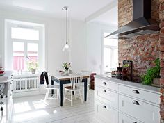 Beautiful Sweden Apartment Built in the early 1900′s | Interior Decorating, Home Design, Room Ideas