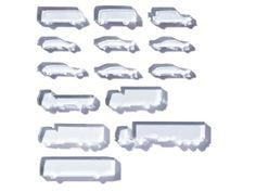 Autos Acrylglas, gelasert, 1:200