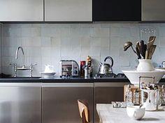 Keuken Witjes Achterwand : Best keuken images houses interiors and blue prints