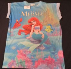 Primark T Shirts, Tinkerbell Outfit, Disney Outfits, Disney Clothes, Disney Love, Cute Fashion, The Little Mermaid, My Design, Ariel