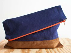 Fold Over Clutch tutorial from Isn't That Sew