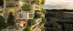 Primeiras florestas verticais da Ásia produzirão 60 kg de oxigênio por dia - Mega Curioso   Não é novidade que a China sofre as consequências da enorme poluição. Para resolver o problema a cidade de Nanquim está com um grande projeto de arquitetura ecológica em vista que deverá ficar pronto em 2018.  Basicamente a cidade contará com florestas verticais com mais de 3 mil plantas que juntas serão capazes de converter dióxido de carbono em 60 quilos de oxigênio por dia.  As Torres Nanquim como…