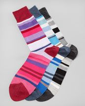 N1U3Q Paul Smith Winding-Stripe Socks