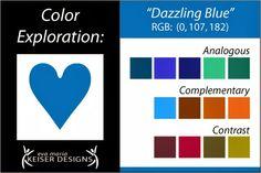 Explore Color:  Dazzling Blue