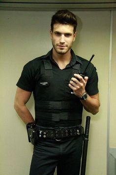 Polizisten Kostüm für Männer