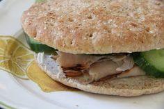 Mix and Match Mama: Lunch: Cucumber & Turkey Sandwiches
