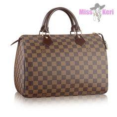 e4e3f47152d7 Купить сумку Louis Vuitton (луи виттон) Speedy Damier Ebene 30, цена, интернет  магазин в Украине и России