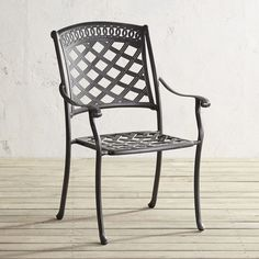 """With its classic lattice design and rich bronze finish, our Katerina Collection is an obvious choice for elegant outdoor entertaining. Not so obvious: Katerina is actually forged from cast aluminum, which is lightweight, rustproof and retains less heat than bronze and other metals.<span id=""""mini-upsell"""" data-launch=""""true"""" data-required=""""false"""" data-product=""""Cushions"""" data-masters=""""PV285-5:1""""></span>"""