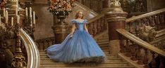 Check out two new Cinderella clips featuring Lily James, Richard Madden and Helena Bonham Carter as well as 25 images from the upcoming Disney film. Cinderella 2015, Cinderella Live Action, Cinderella Movie, Live Action Movie, Cinderella Dresses, Cinderella Carriage, Cinderella Ballgown, Cinderella Bedroom, Cinderella Wallpaper