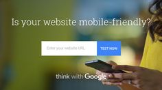 The search engine giant,  Google, newly launched a tool to test your mobile friendliness in a more efficient way!! Test mobile speed & compare with its desktop version of your website from #Google!! To Check, look at here >>> https://testmysite.thinkwithgoogle.com/