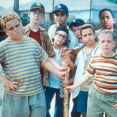 The Sandlot, one of the best movies of my childhood. 90s Kids Movies, Old Movies, Great Movies, 1990s Movies, Excellent Movies, Amazing Movies, Iconic Movies, Classic Movies, Make My Day
