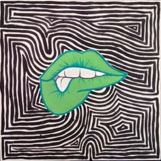 high contrast pop art acrylic painting - Yahoo Search Results